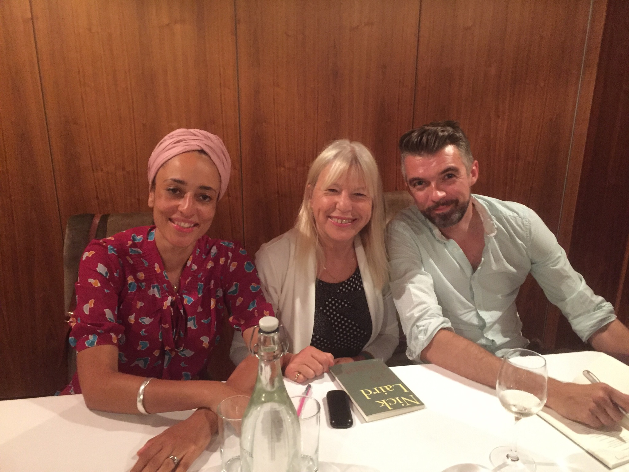 Sue Leonard Zadie Smith And Nick Laird In Bantry